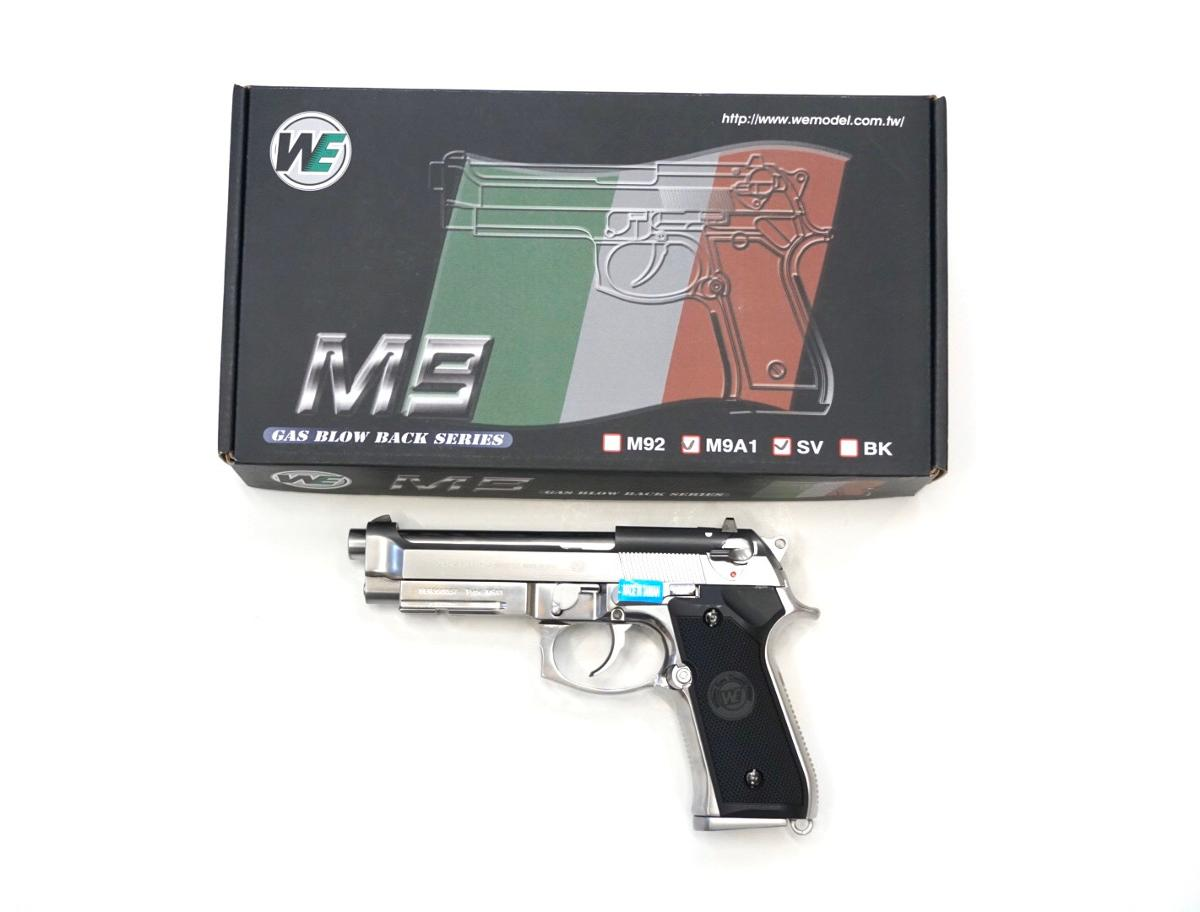 WE M92A1 Silver